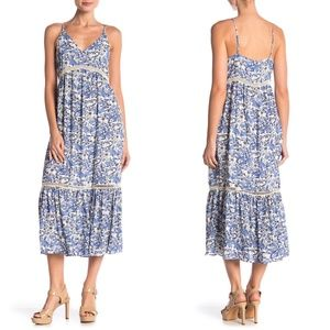 CECE by Cynthia Steffe Ivy Forest Maxi Dress